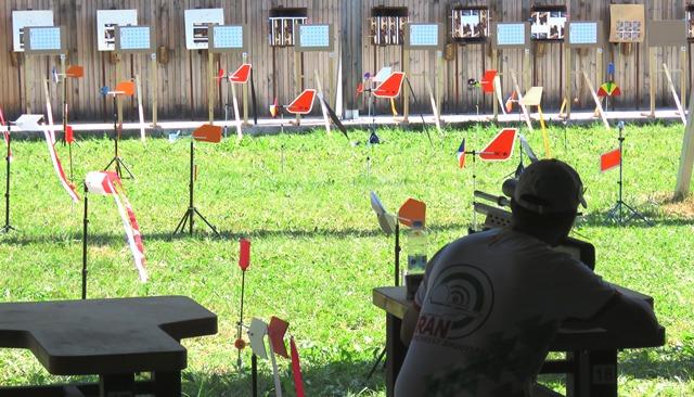 تیراندازی بنچ رست تفنگ بادی