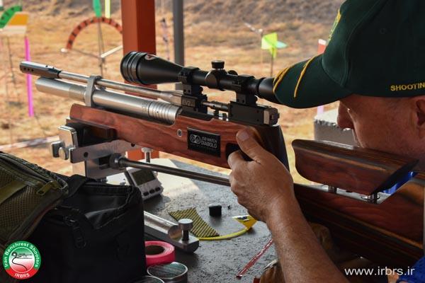 تیراندازی Free recoil در بنچ رست