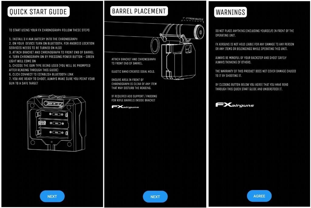 fx radar manual - معرفی کرنوگراف FX