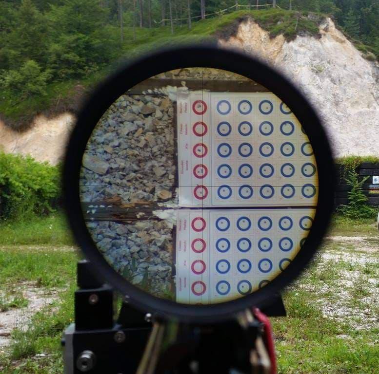 IOR Valdada 36X reticle - دوربین بنچ رست