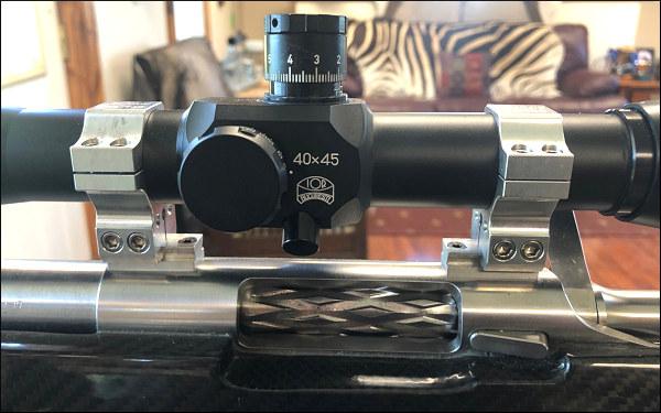 IOR Valdada 40X reticle - دوربین بنچ رست